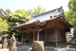 伊南理神社(越谷市東町)7