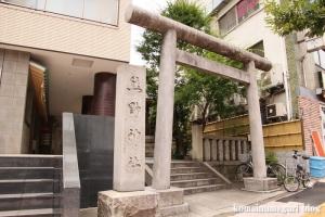 飯倉熊野神社(港区麻布台)1