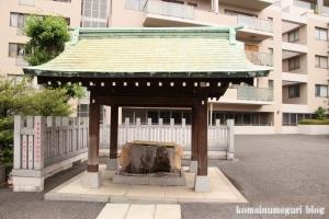 白銀氷川神社(港区白銀)6