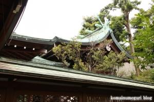 白銀氷川神社(港区白銀)9