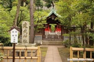 白銀氷川神社(港区白銀)14