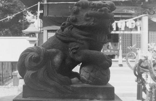 白髭神社(川崎市高津区北見方)3