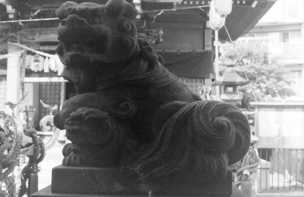 白髭神社(川崎市高津区北見方)1