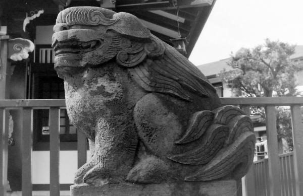 杉山神社(川崎市高津区末永)1