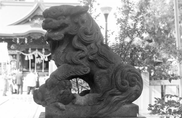 溝口神社(川崎市高津区下溝口)1