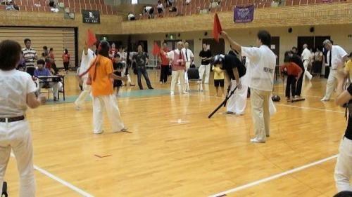 14団体決勝雅VS竹本先生 旗