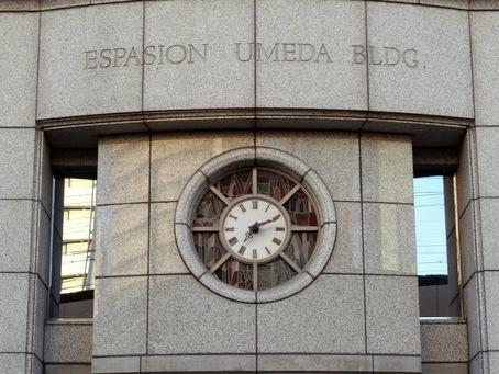 ESPASION-UMEDA-BLDGの時計2
