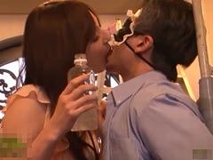 辰巳ゆい 痴女 ローション手コキ