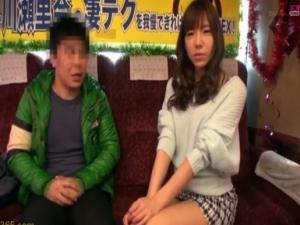 5年振りに復帰したAV女優の痴女責めテクニックは本当に凄いのか?という企画 早川瀬里奈