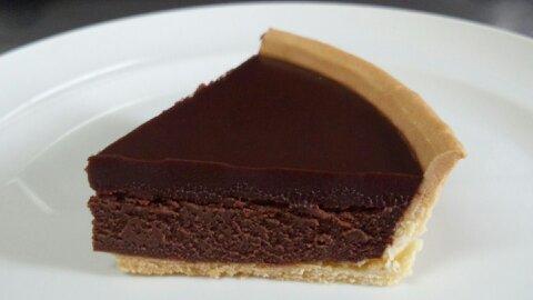 モロゾフチョコチーズケーキ④