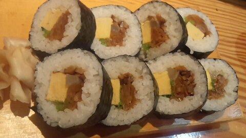 うを亀巻き寿司