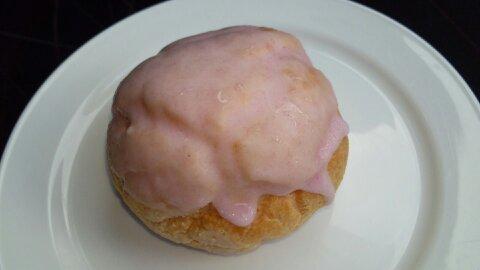 桜香るシュークリーム②