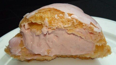 桜香るシュークリーム④