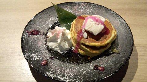 桜餅パンケーキ①