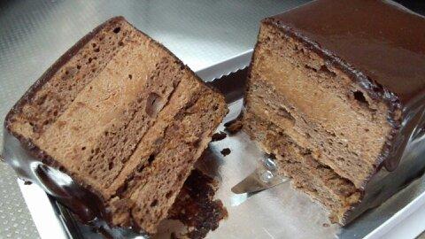 オッジチョコケーキ②