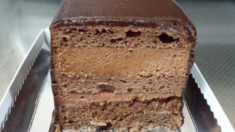オッジチョコケーキ④
