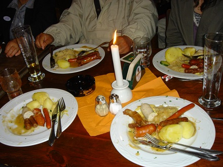 6ドイツ昼食皆が余した