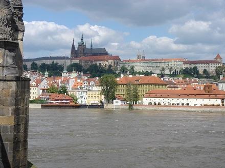 8プラハ城の絶景