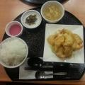 海老マヨ定食