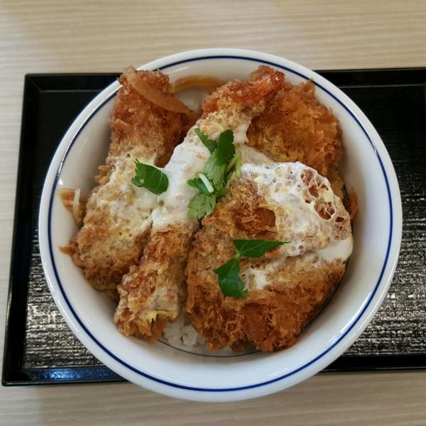 海鮮ヒレメンチカツ丼