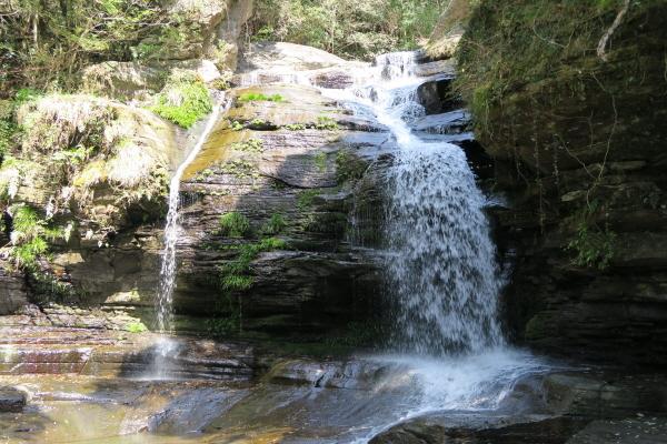 つがね落としの滝4