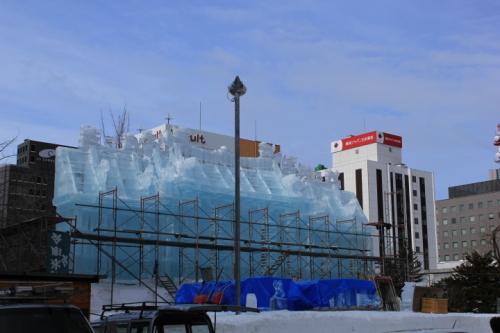 2015さっぽろ雪まつり途中 (11)