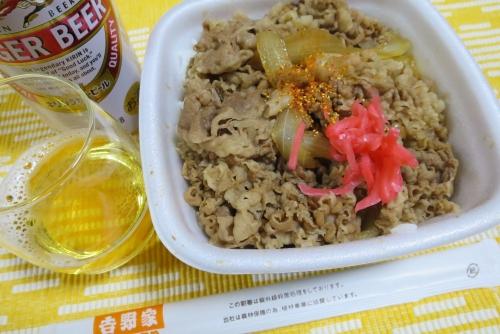 夜食牛丼 (1)