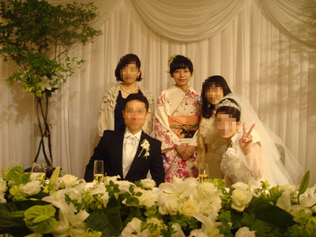 ゆかりん結婚式①