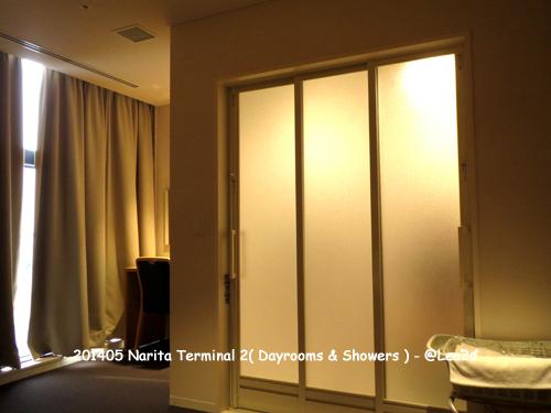 2015年5月 成田空港 第2ターミナル リフレッシュルーム(仮眠室)はサテライトに移転