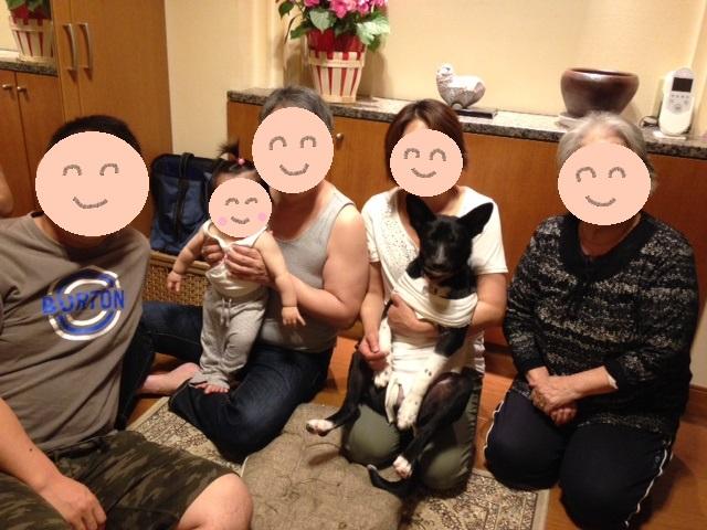 家族写真 リン 20150519 q