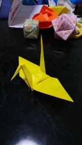 折り紙〜ツル
