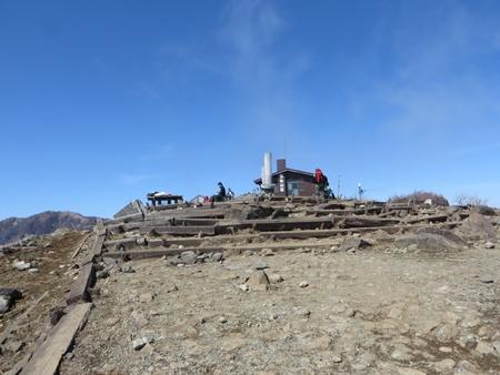 山頂山小屋