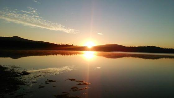 メディスンレイクの夜明け2014B
