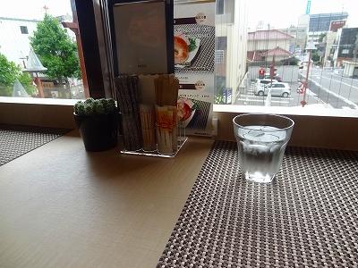 コットカフェのカウンターの様子
