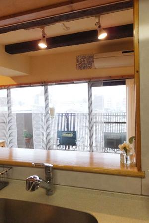 キッチンからの眺め