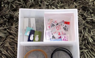 無印 小物収納ボックス6段