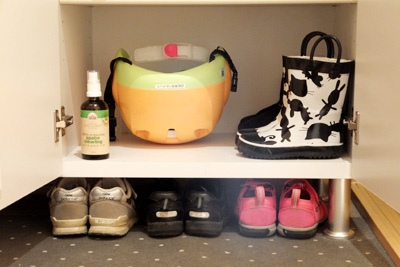子供靴の収納