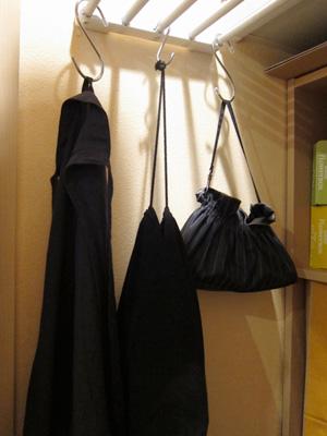 折り畳み傘の収納