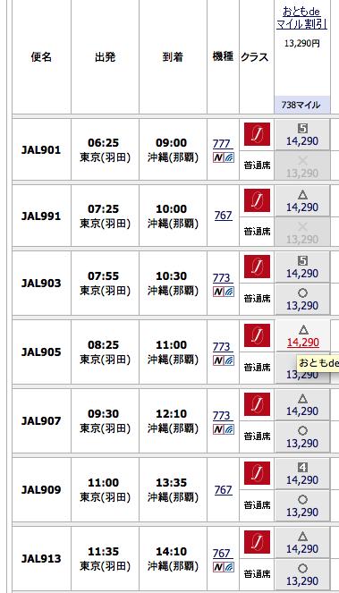 2015沖縄旅行(本島)フライト予約nw('2015','05','18','00')