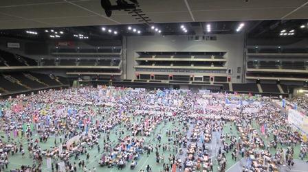 2015彩の国進学フェア第1日会場全景