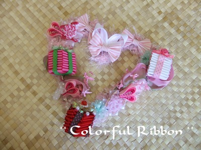 Happy Sweet Valentine Mini Wreath