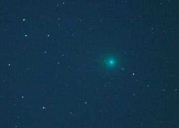 都市部からのラブジョイ彗星