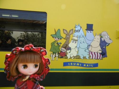 ムーミン列車♪