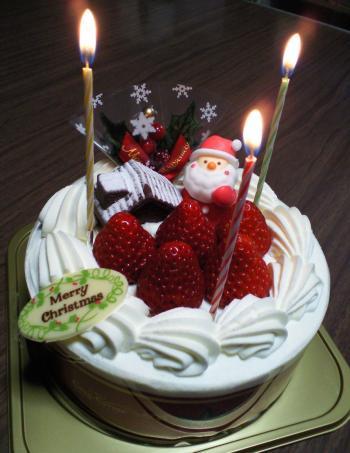 クリスマスケーキ(26.12.25)