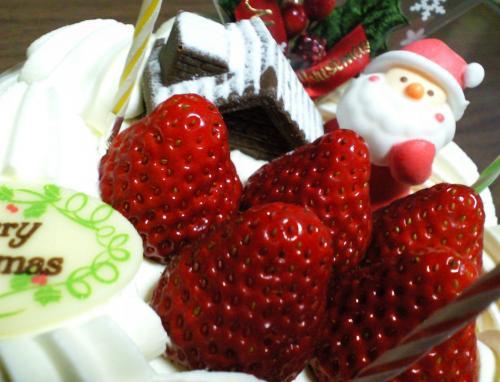 クリスマスケーキアップ(26.12.25)