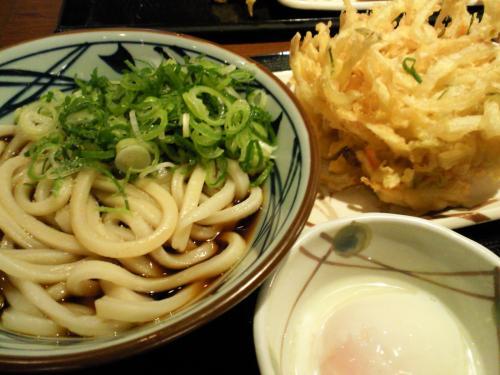 丸亀製麺で夕飯(26.12.28)