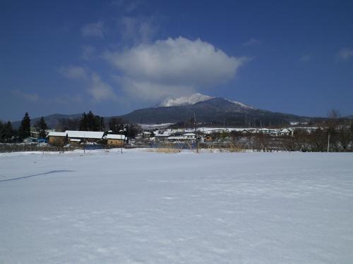 雪の風景(高社山)(27.1.5)
