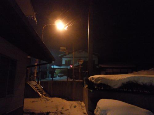 寒い夜(27.1.7)
