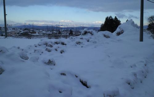 雪の山(27.1.13)