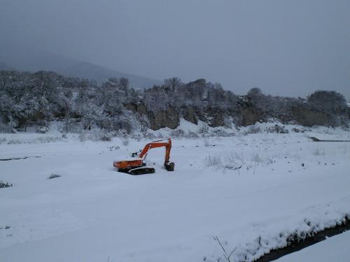 冬の十三崖(27.1.13)